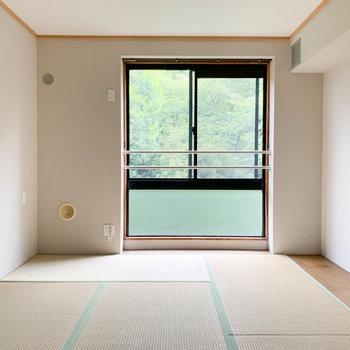 【和室】丁寧なメンテナンスされ、清潔感のある和室