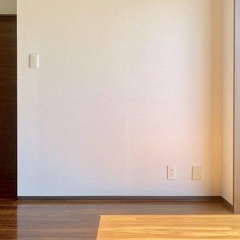 脱衣所はドア側です