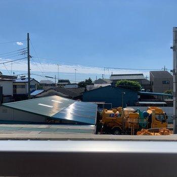 眺望は周辺の住宅街