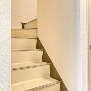 では、2階へ。