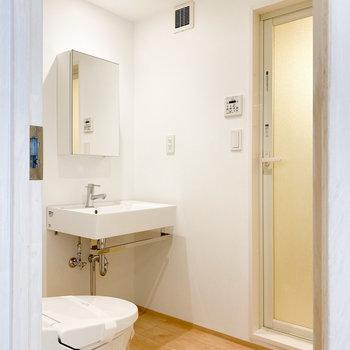 トイレと脱衣所は同室です