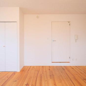 壁1面ホワイトで統一※写真は前回募集時のもの