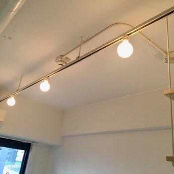豆電球とライティングレールってこんなに可愛かったっけ!
