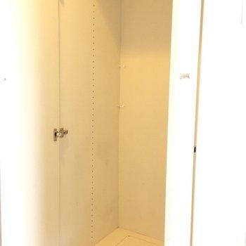 洋室の収納です。物足りない時は収納を買い足してもいいですね。※写真は3階の同間取り別部屋のものです