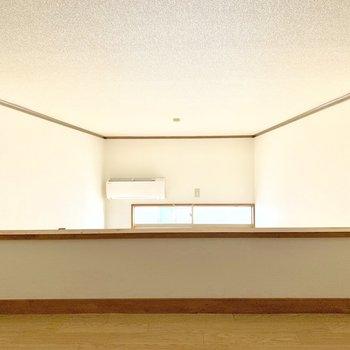 【ロフト】窓からの光がやや入ってきます