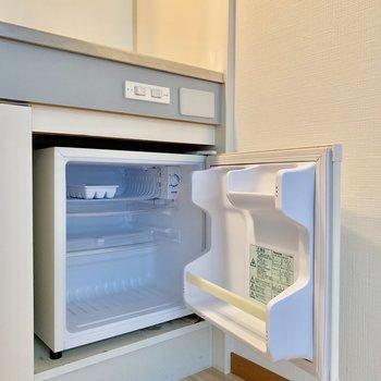 下には冷蔵庫