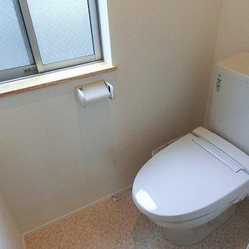 窓のあるおトイレ※写真は前回募集時のものです