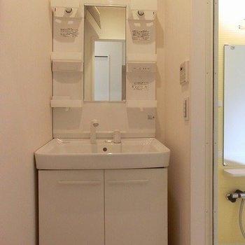 シャワーノズル付洗面台※写真は前回募集時のものです
