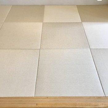 畳は縁なし□の琉球畳を!
