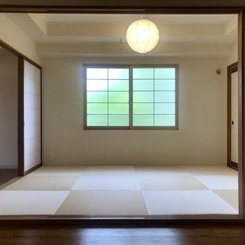 和室あるお部屋っていい!