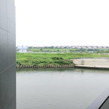隅田川も見えます。