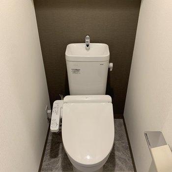 トイレに余裕があります