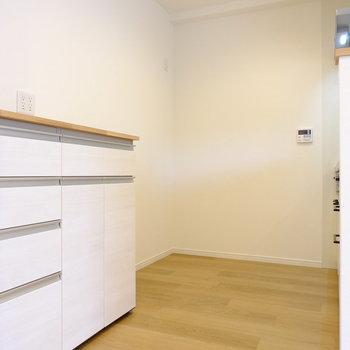 キッチンスペースはかなり広め※イメージ
