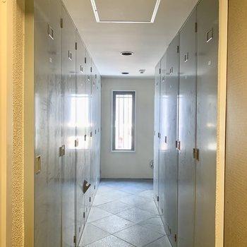 ロッカールームもあります。