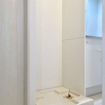 洗濯機はキッチンの横に※写真は前回募集時のものです