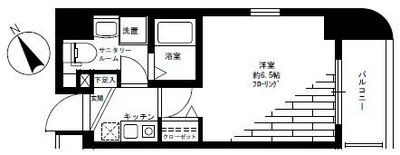 グリフィン新横浜・弐番館 の間取り