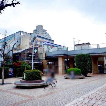 志木駅周辺にはカフェや飲食店もありました