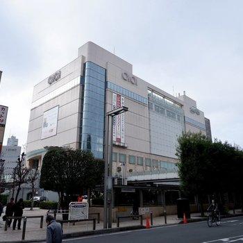 志木駅横に百貨店もあります