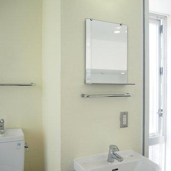3F】洗面台もシンプルです!
