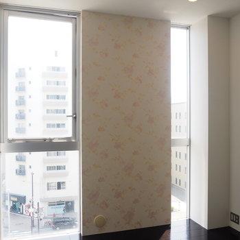 2F】窓が大きくて良いですね◯