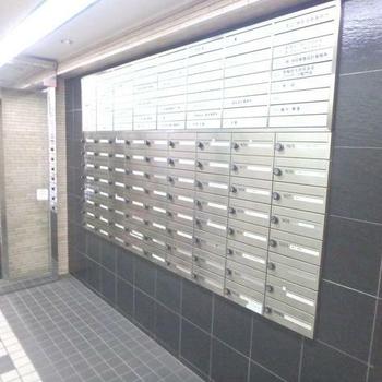 郵便物はこちらへ
