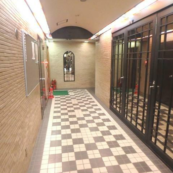 廊下もおしゃれ