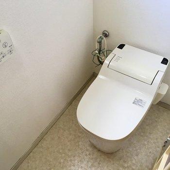 【5F】5階にもトイレがあるから便利。