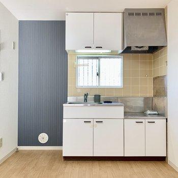 【DK】冷蔵庫は左手に。※写真は前回募集時のものです