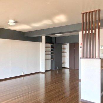 家具はキッチンと対面に置きましょう!