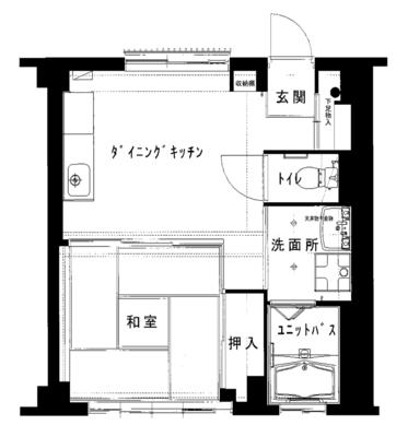 アートと交流 -京都堀川編- の間取り
