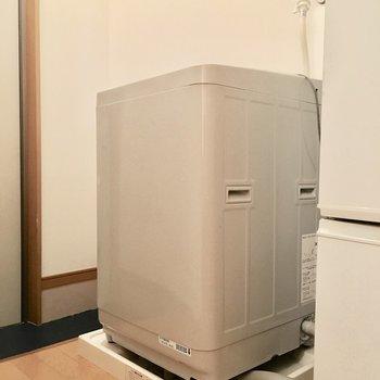 洗濯機だって付いてきます◎