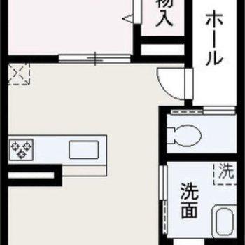 対面式キッチンのあるお部屋