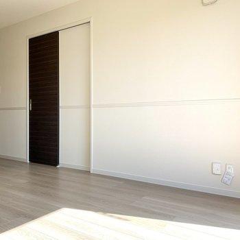 【LDK】ソファを置いてもいいですね※写真は1階の同間取り別部屋のものです