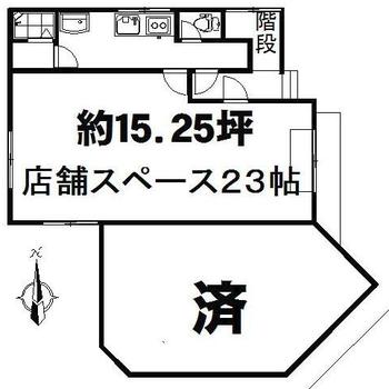 一軒家の一階部分です