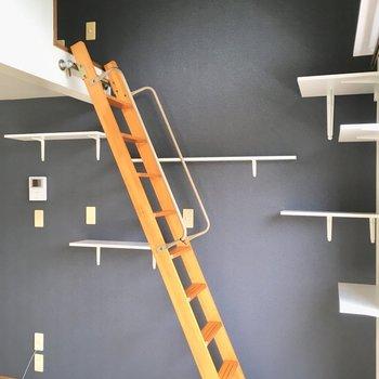 階段をのぼってみよう。