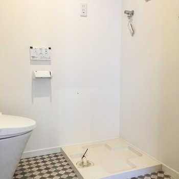 洗濯機が脱衣所にあるの、便利ですよね。※写真は前回募集時のものです
