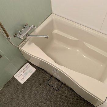 既存利用】お風呂は広くてきれいなユニットバスタイプ!浴室乾燥機付き