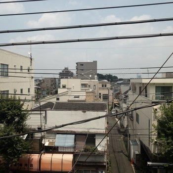 【下階】街並みが見えます