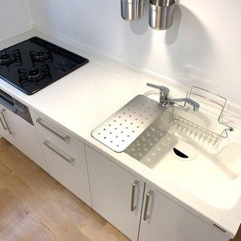 【イメージ】3口コンロの広々したキッチンへ交換。使いやすそ〜!