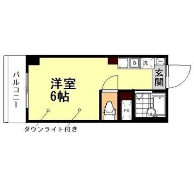 東戸塚11分マンション の間取り
