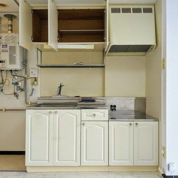 キッチン周りは収納が沢山あります。