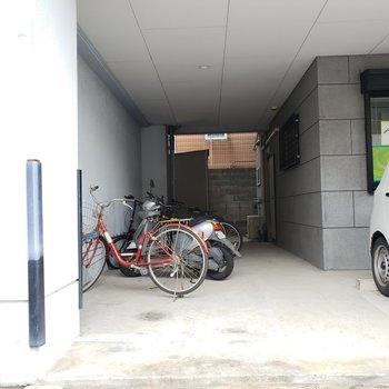 駐輪場・バイク置場もありますよ!