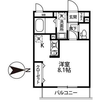 キッチンも広めのお部屋です