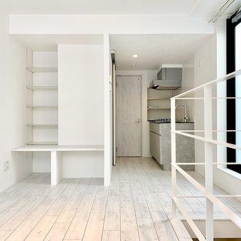 白くて爽やかなお部屋。※ 写真は前回募集時のものです