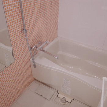 ポップなバスルーム