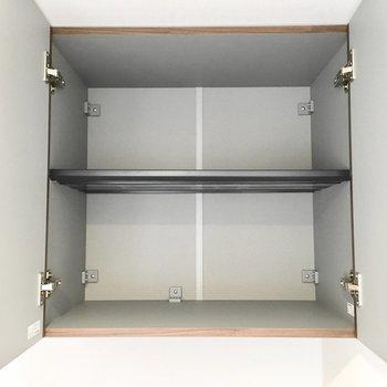 シューズボックスの上部はこんな感じ。
