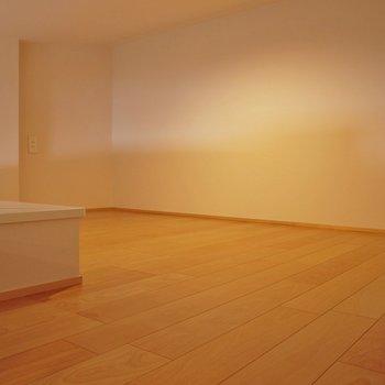 ロフトもこの広さ!寝室に物置に使い方色々!※写真は同タイプ1階のお部屋
