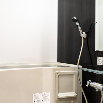 乾燥機付きの浴室。