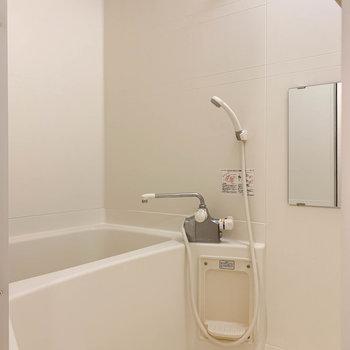 浴室乾燥の付いたお風呂。