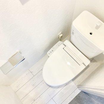 トイレは玄関横に。※ 写真は前回募集時のものです